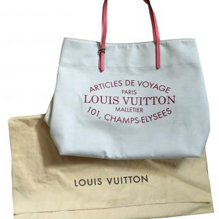 Louis vuitton articles de voyage gm corale tote bag