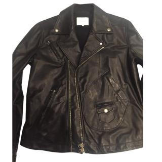 Pierre Balmain men's leather jacket