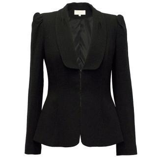 Goat Black Wool Jacket