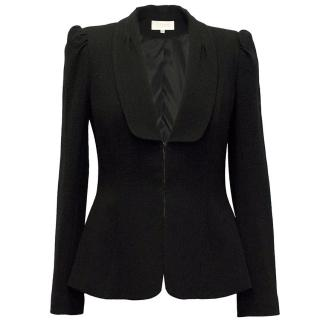Goat Black Wool Jacket