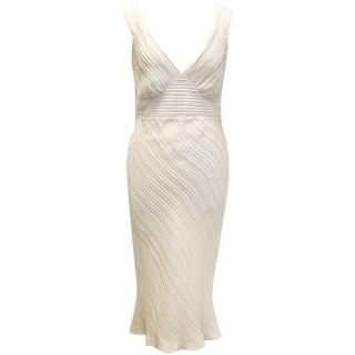 Maria Grachvogel Silk Cream Dress