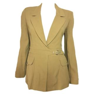 Georges Rech tobacco jacket safari style