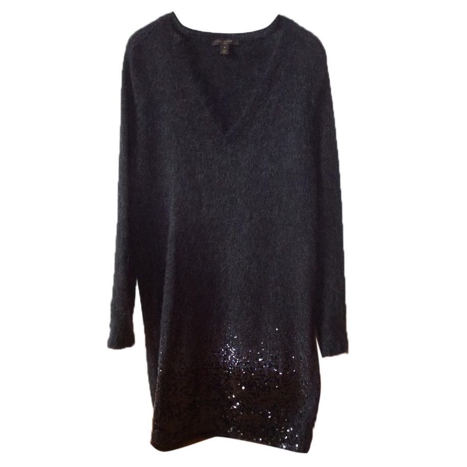 Louis Vuitton sequined Mohair dress