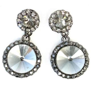 Butler and Wilson crystal earrings