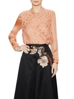 Temperley London Lily Graphic top