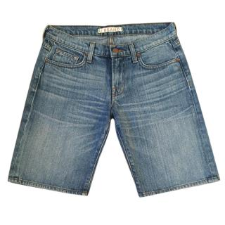 J. BRAND 'Perfect' denim blue bermuda shorts