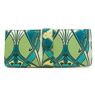 Liberty Floral Print Silk Clutch