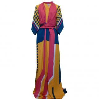 Issa Pollyanna Maxi Kaftan Dress