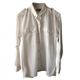Isabel Marant raw cotton shirt
