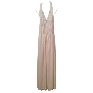 Stella McCartney cream halter neck jumpsuit