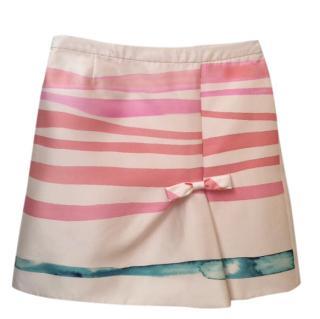 Louis Vuitton print skirt