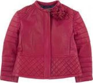 Monnalisa Leather Coat for girls