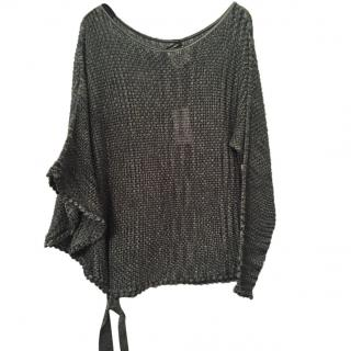Chanel Knit Poncho Jumper