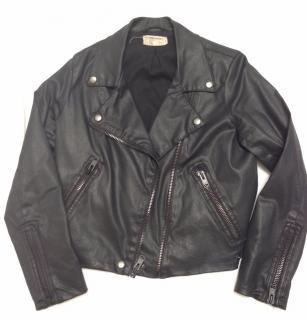 Current Elliott coated cotton biker jacket