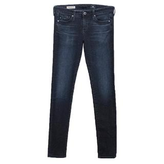 AG Jeans Adriano Goldschmied Blue Denim 'The Absolute Legging' Jeans