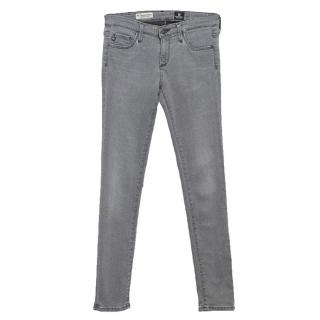 AG Jeans Adriano Goldschmied Grey 'The Legging Ankle' Jeans