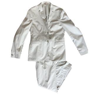 Acne Mens Aron J Pop Khaki Skinny Trousers & Aron J Pop Khaki Jacket