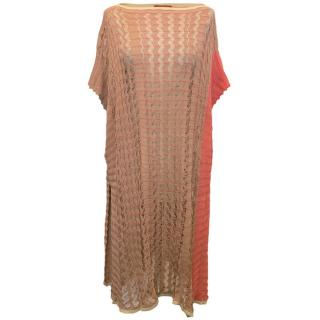 Missoni Nude and Pink Knitted Cover-Up