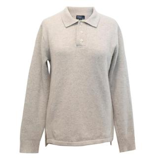 Polo by Ralph Lauren Grey Cashmere Jumper