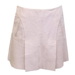 Emporio Armani nude skirt