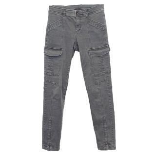 Bogner Dark Grey Cargo Jeans