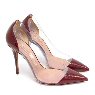 Vicedomini Red PVC Pumps