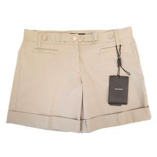 Dolce & Gabbana khaki shorts