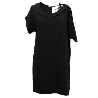 Miu Miu Black One Shoulder Dress