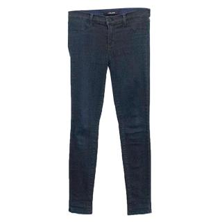 J Brand navy skinny jeans