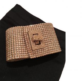 Swarovski wrist cuff bracelet
