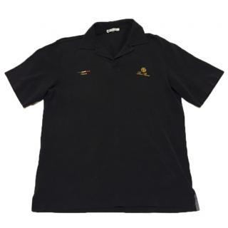 Loro Piana Navy Blue Polo Shirt Like New Size Small.
