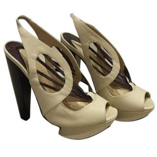 Nicholas Kirkwood sculptural sandals