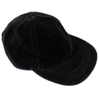 Lanvin Black Velvet Cap