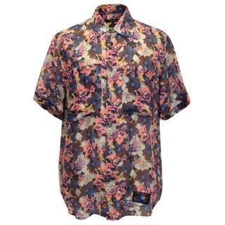 Marc Jacobs Floral Print Short Sleeved Shirt