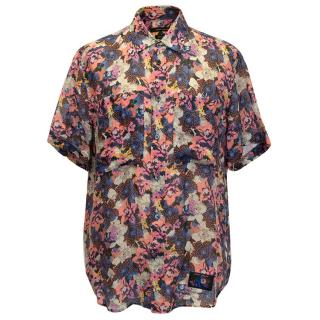 Marc Jacobs Floral Print Short Sleeved Shirt