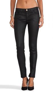 Current Elliot The Ankle Skinny Wax Coated Jeans W26 L30