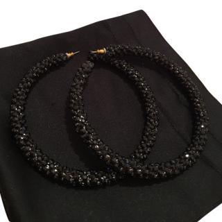 Swarovski crystal elements earrings