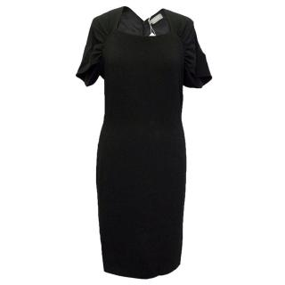 Osman Yousefzada black midi dress