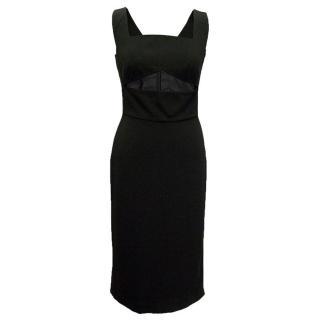 Osman Yousefzada black sleeveless dress
