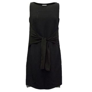Osman Black Tie Front Dress