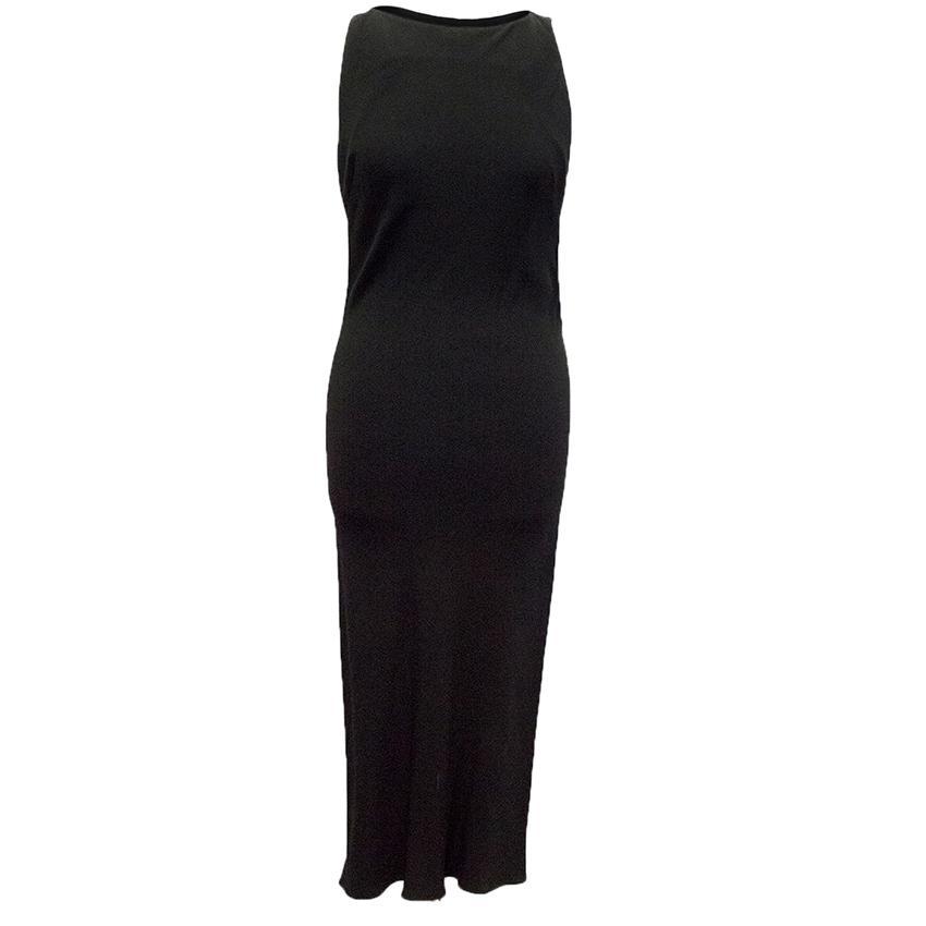 Marie Grachvogel Black bodycon dress