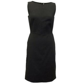 Osman black sleeveless dress