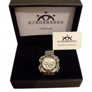 Hindenberg silver automatic watch