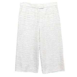 Osman White and Silver Culottes