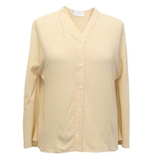 Osman Beige long sleeve blouse