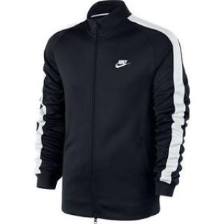 Nike International Track Jacket Sweatshirt Black