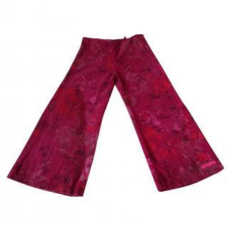 Kenzo floral pattern girls pants