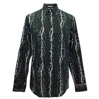 Liberty of London white and black print shirt