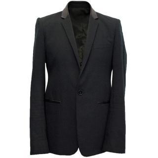 Sandro black blazer
