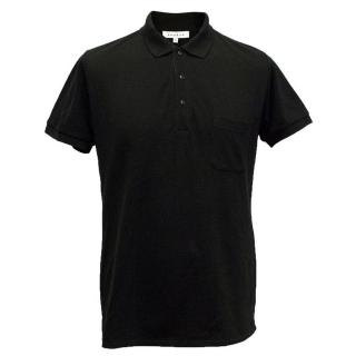 Sandro black polo shirt